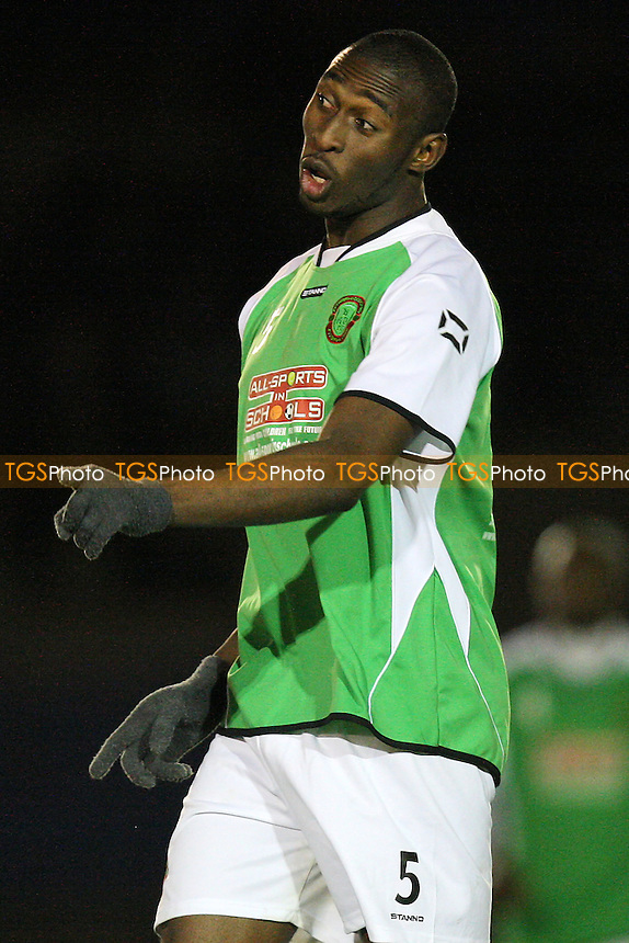 Ajibola Olatunbosun of Bethnal Green - Bethnal Green United vs Sporting Bengal United - Essex Senior League Football at the Mile End Stadium, London - 30/11/11 - MANDATORY CREDIT: Gavin Ellis/TGSPHOTO - Self billing applies where appropriate - 0845 094 6026 - contact@tgsphoto.co.uk - NO UNPAID USE.