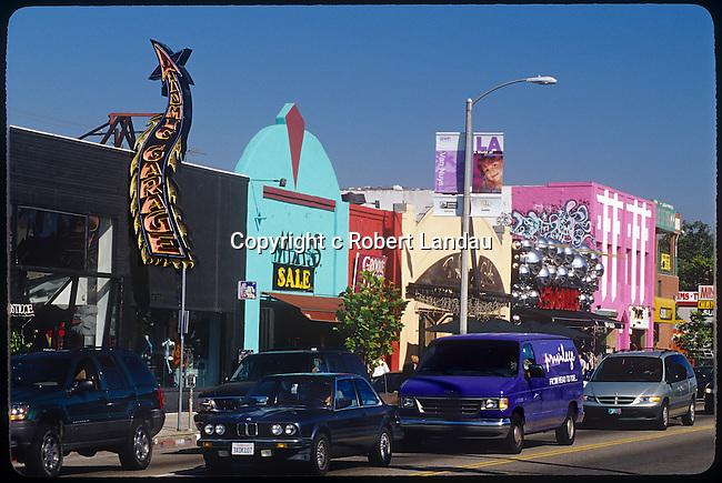 Melrose Ave. circa 1980'a