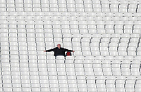 Fans soaks up the rays during Surrey CCC vs Essex CCC, Specsavers County Championship Division 1 Cricket at the Kia Oval on 13th April 2019