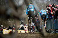 belgian blue <br /> <br /> Elite Men's race<br /> <br /> 2015 UCI World Championships Cyclocross <br /> Tabor, Czech Republic