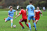 NELSON, NEW ZEALAND - JUNE 1: MPL - Nelson Suburbs v FC Twenty 11, Saxton Field, 1 June 2019 in Nelson, New Zealand. (Photo by Chris Symes/Shuttersport Limited)
