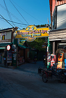Welcome to Koh Lipe sign on Walking street