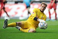 FUSSBALL   1. BUNDESLIGA   SAISON 2011/2012    3. SPIELTAG SV Werder Bremen - SC Freiburg                             20.08.2011 Torwart Oliver BAUMANN (SC Freiburg)