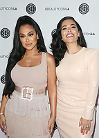 LOS ANGELES, CA - AUGUST 11: Huda Kattan, Mona Kattan, at Beautycon Festival Los Angeles 2019 - Day 2 at Los Angeles Convention Center in Los Angeles, California on August 11, 2019. <br /> CAP/MPIFS<br /> ©MPIFS/Capital Pictures