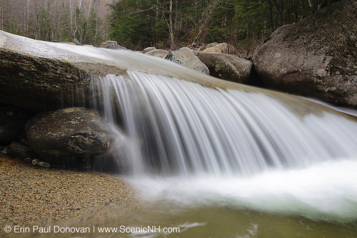 Little River in Bethlehem, New Hampshire during the spring months.