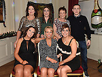 Shirley, Paula, Gillian, Debbie, Laura and Ian with their mother Clare at the Thompson family reunion in the Pheasant. Photo:Colin Bell/pressphotos.ie