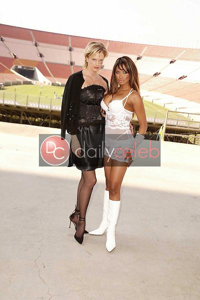 Kylie Bax and Traci Bingham