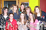 Honoured at the Killarney Cougars awards ceremony in Corkery's bar Killarney on Monday was front row l-r: Katie O'Leary, Kate Looney, Fiona Lacey. Back row: Lisa Fleming, Emma Cronin, Shannon Doherty, Shannon Ahern and Ellen Buckley   Copyright Kerry's Eye 2008