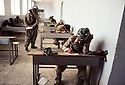 Iran 1981.Ouchnavieh: Exams for first-aid worker of KDPI ( Kurdish party )