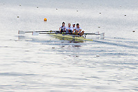 Caversham. Berkshire. UK<br /> left,  Cox. Oliver JAMES. Bow. Grace CLOUGH,  Pamela RELPH, Daniel BROWN and James FOX. 2016 GBRowing, Para Rowing Media Day, UK GBRowing Training base near Reading, Berkshire.