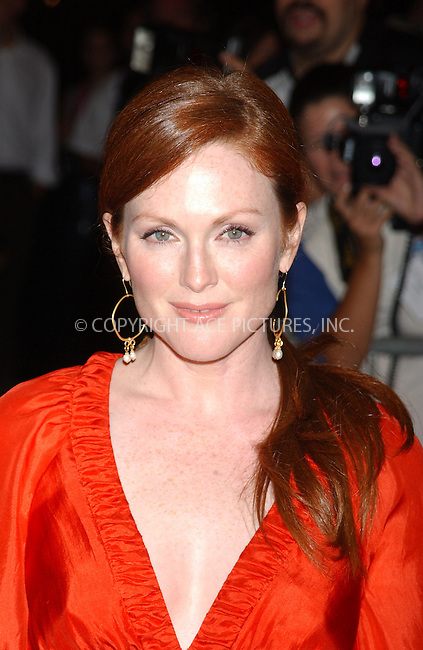 WWW.ACEPIXS.COM . . . . .  ....NEW YORK, SEPTEMBER 19, 2005....Julianne Moore at the premiere of 'The Prize Winner of Defiance, Ohio' at Loews Lincoln Square.....Please byline: KRISTIN CALLAHAN - ACE PICTURES.... *** ***..Ace Pictures, Inc:  ..Craig Ashby (212) 243-8787..e-mail: picturedesk@acepixs.com..web: http://www.acepixs.com