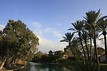 Israel, Beth Shean valley. Amal Strem in kibbutz Nir David
