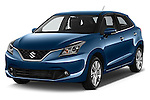 2016 Suzuki Baleno Skycruise 2 Door Convertible Angular Front stock photos of front three quarter view
