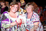 Vickey and Ann McCarthy (Tralee) pictured with their dog Phoebe (miniature Jack Russell) pictured at the Woof Woof dog show in aid of Liam's Lodge on Sunday afternoon.