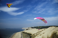 Europe/France/Aquitaine/33/Gironde/Bassin d'Arcachon: Deltaplane et parapente