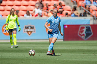 Houston, TX - Saturday May 13, Sky Blue FC midfielder Nikki Stanton (7) during a regular season National Women's Soccer League (NWSL) match between the Houston Dash and Sky Blue FC at BBVA Compass Stadium. Sky Blue won the game 3-1.