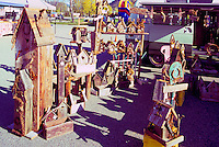 Kelowna Farmers' and Crafters' Market, Kelowna, BC, British Columbia, Canada