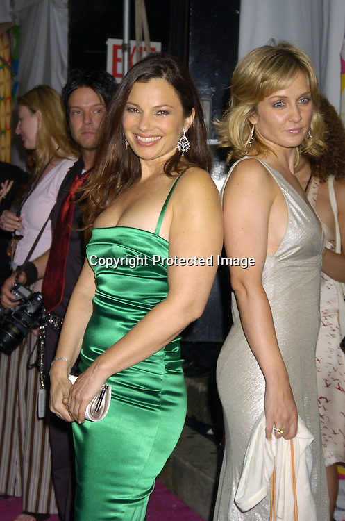 Amy Carlson and Fran Drescher ..at The Entertainment Weekly Must List Party on June 16, 2005 at Deep. ..Photo by Robin Platzer, Twin Images