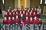 Children from Holy Family NS Tralee who were confirmed on Thursday in St Brendans Church, Tralee, By the Bishop of Kerry Bill Murphy,