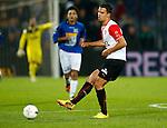 Nederland, Rotterdam, 30 oktober 2013<br /> KNVB Beker<br /> Seizoen 2013-2014<br /> Feyenoord-HSV Hoek<br /> Mitchell Te Vrede van Feyenoord