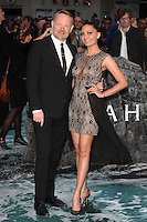 Allegra Riggio and Jared Harris arriving for the UK Premiere or Noah, at Odeon Leicester Square, London. 31/03/2014 Picture by: Alexandra Glen / Featureflash