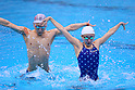 Synchronised Swimming Mix Duet : Japan national team training session