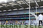 during the AIB GAA Football All-Ireland Junior Club Championship Final match between Na Gaeil and Rathgarogue-Cushinstown at Croke Park on Saturday.