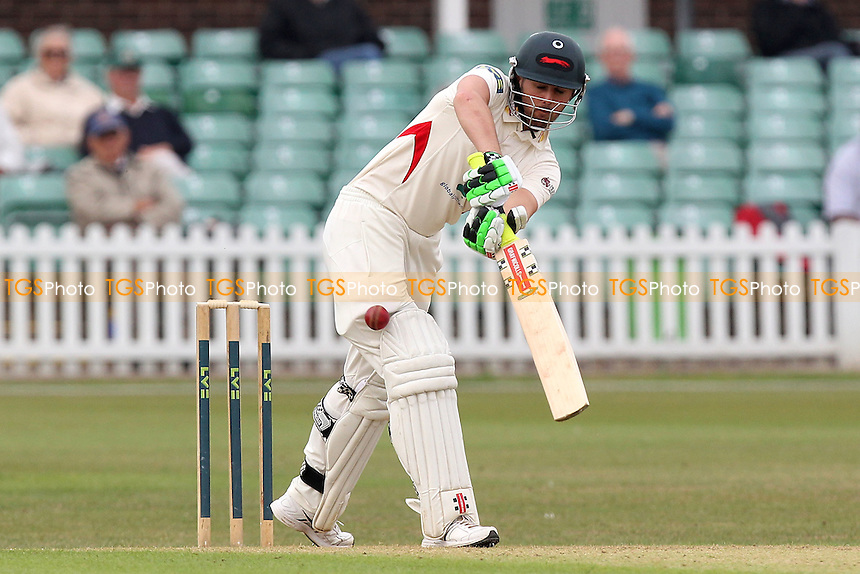 Dan Redfern in batting action for Leicestershire - Leicestershire CCC vs Essex CCC - LV County Championship Division Two Cricket at Grace Road, Leicester - 15/09/14 - MANDATORY CREDIT: Gavin Ellis/TGSPHOTO - Self billing applies where appropriate - contact@tgsphoto.co.uk - NO UNPAID USE