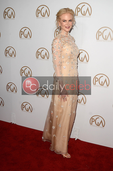 Nicole Kidman<br /> at the 2017 Producers Guild Awards, Beverly Hilton Hotel, Beverly Hills, CA 01-28-17<br /> David Edwards/DailyCeleb.com 818-249-4998
