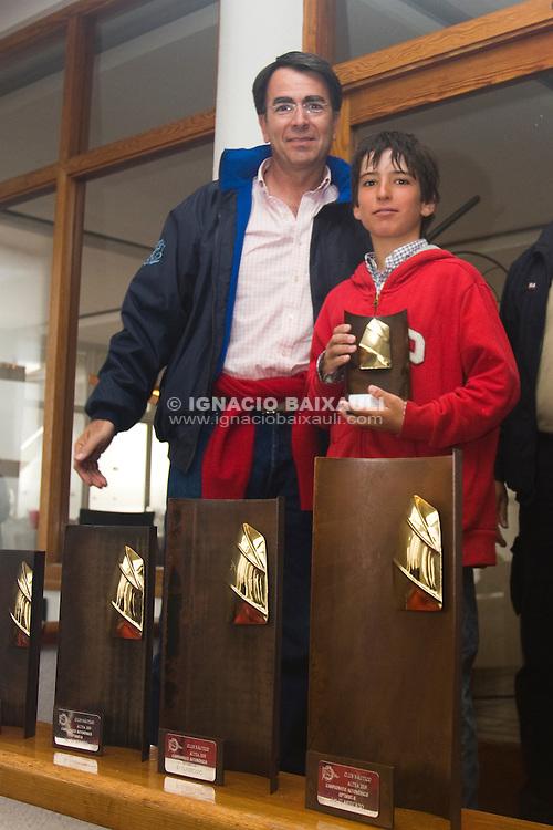 6.- Gonzalo Poole - CN Javea <br /> Campeonato Auton&oacute;mico de Optimist B, Club N&aacute;utico de Altea