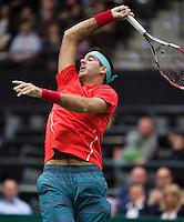 12-02-14, Netherlands,Rotterdam,Ahoy, ABNAMROWTT, Juan-Martin Del Potro(ARG)<br /> Photo:Tennisimages/Henk Koster