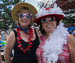 Birgit Baker and Deborah Braun during Pops on the River at Wingfield Park in Reno, Nevada on Saturday, July 14, 2018.