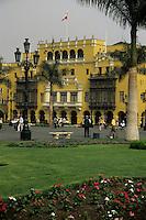 Lima, Peru - Plaza Mayor, a World Heritage Site