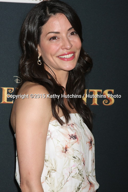 "LOS ANGELES - JUL 24:  Emmanuelle Vaugier at the ""Descendants"" Premiere Screening at the Walt Disney Studios on July 24, 2015 in Burbank, CA"