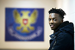 Matty Willock pictured at McDiarmid Park this afternoon after joining St Johnstone on loan from Manchester United&hellip;.31.01.18<br />