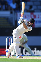Henry Nicholls.<br /> New Zealand Blackcaps v England. 1st day/night test match. Eden Park, Auckland, New Zealand. Day 4, Sunday 25 March 2018. &copy; Copyright Photo: Andrew Cornaga / www.Photosport.nz