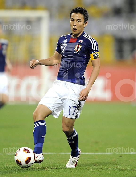 Fussball AFC Asian Cup 2011    09.01.2011 Japan - Jordanien Makoto Hasebe (Japan)