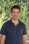 Guiding Light's actor Daniel Cosgrove on October 1, 2009 in Pittsburgh, PA area as the actors visit Moon Township Honda after going to the various GO PINK Panera Bread locations. Proceeds from pink ribbon bagel sales will benefit the Young Women's Breast Cancer Awareness Foundation. (Photo by Sue Coflin/Max Photos)