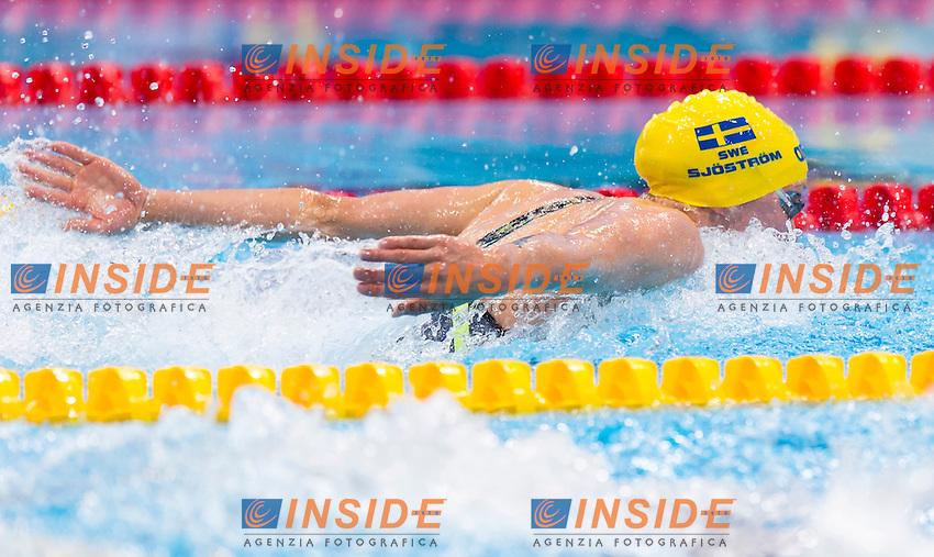 SJOESTROEM Sarah SWE<br /> London, Queen Elizabeth II Olympic Park Pool <br /> LEN 2016 European Aquatics Elite Championships <br /> Swimming<br /> Women's 50m butterfly preliminary <br /> Day 08 16-05-2016<br /> Photo Giorgio Perottino/Deepbluemedia/Insidefoto