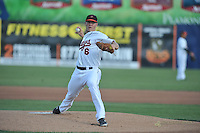 Dylan Bundy pitches for the Frederick KeysDylan Bundy pitches for the Frederick Keys