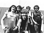 Blue Oyster Cult 1981 Donald Buck Dharma Roeser, Joe Bouchard, Albert Bouchard, Allan Lanier and Eric Bloom