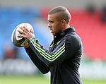Simon Zebo of Munster - European Rugby Champions Cup - Sale Sharks vs Munster -  AJ Bell Stadium - Salford- England - 18th October 2014  - Picture Simon Bellis/Sportimage