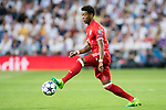 David Alaba of FC Bayern Munich in action during their 2016-17 UEFA Champions League Quarter-finals second leg match between Real Madrid and FC Bayern Munich at the Estadio Santiago Bernabeu on 18 April 2017 in Madrid, Spain. Photo by Diego Gonzalez Souto / Power Sport Images