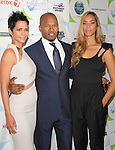 Halle Berry, Jamie Foxx & Leona Lewis at the Jenesse 30th Anniversary Silver Rose Gala & Auction held at The Beverly Hills Hotel in Beverly Hills, California on April 18,2010                                                                   Copyright 2010  DVS / RockinExposures