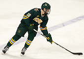 Derek Lodermeier (UVM - 16) - The visiting University of Vermont Catamounts tied the Boston College Eagles 2-2 on Saturday, February 18, 2017, Boston College's senior night at Kelley Rink in Conte Forum in Chestnut Hill, Massachusetts.Vermont and BC tied 2-2 on Saturday, February 18, 2017, Boston College's senior night at Kelley Rink in Conte Forum in Chestnut Hill, Massachusetts.