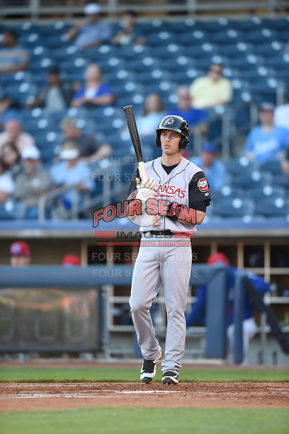 ***Temporary Unedited Reference File***Arkansas Travelers second baseman Alex Yarbrough (16) during a game against the Tulsa Drillers on April 25, 2016 at ONEOK Field in Tulsa, Oklahoma.  Tulsa defeated Arkansas 4-3.  (Mike Janes/Four Seam Images)