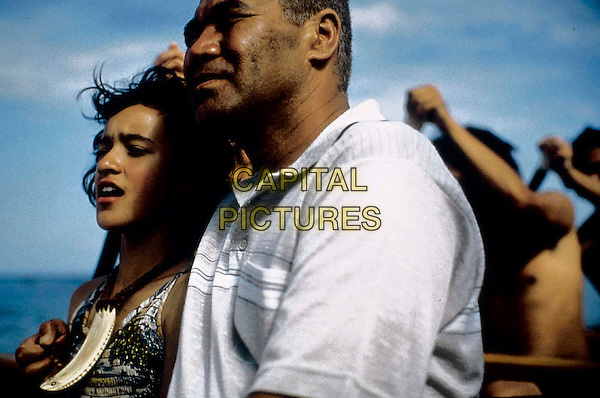 "RAWIRI PARATENE, KEISHA CASTLE-HUGHES .in ""Whale Rider"".Filmstill - Editorial Use Only.Ref: FB.sales@capitalpictures.com.www.capitalpictures.com.Supplied by Capital Pictures."