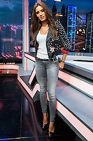 Spanish actress Pilar Rubio during the presentation of the new season of the tv show · El Hormiguero · of Antena 3 channel. September 01, 2016. (ALTERPHOTOS/Rodrigo Jimenez) NORTEPHOTO