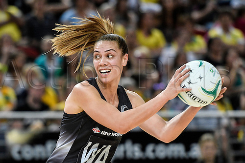 09.10.2016. Qudos Bank Arena, Sydney, Australia. Constellation Cup Netball. Australia Diamonds versus New Zealand Silver Ferns. New Zealands Grace Rasmussen in action. The Diamonds won the game 68-56.