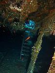 Orchid Island (蘭嶼), Taiwan -- inside Ba Dai Ship Wreck (八代沉船)